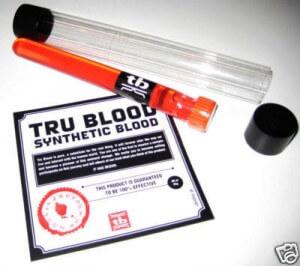 tru blood echantillon