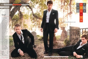GQ les mecs de true blood