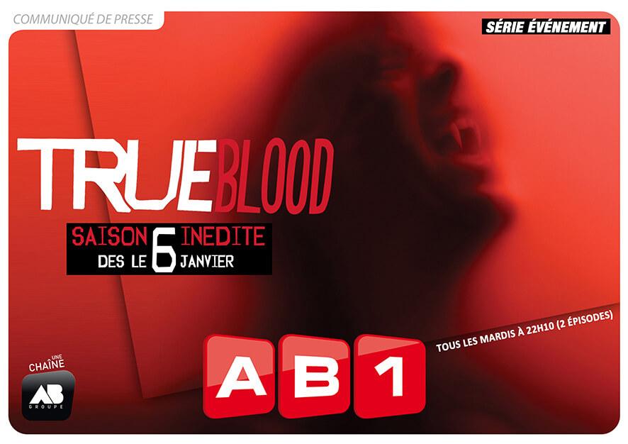 La saison 6 de True Blood sur AB1 à partir du 6 janvier